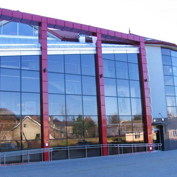 Fasady Aluminiowo szklane, drzwi, okna, świetliki dachowe