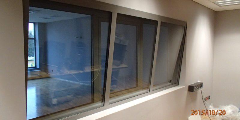 Okna akustyczne.
