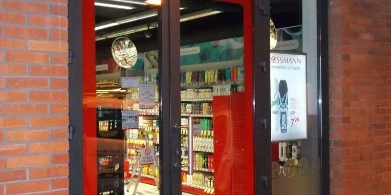 Drzwi Antywłamaniowe z Naświetlem bocznym.